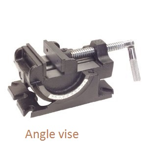 Angle Vise lathe machine