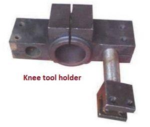 Knee tool holder