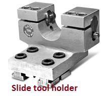 Slide tool holder